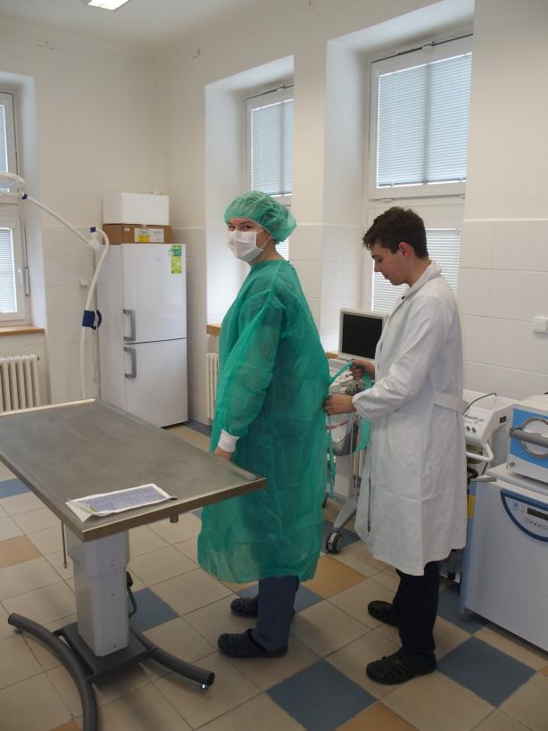 Cvičný chirurgický sál